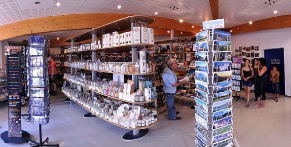 Boutique / Librairie du Muséoscope du Lac